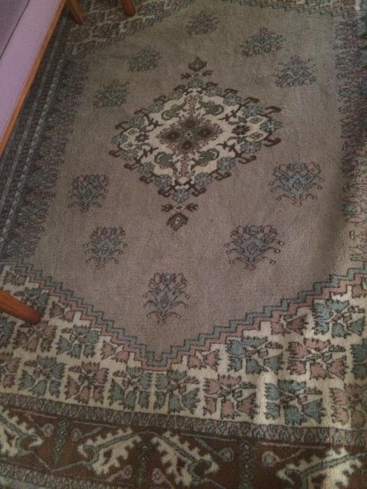 6.9 x 9.6 Turkish rug
