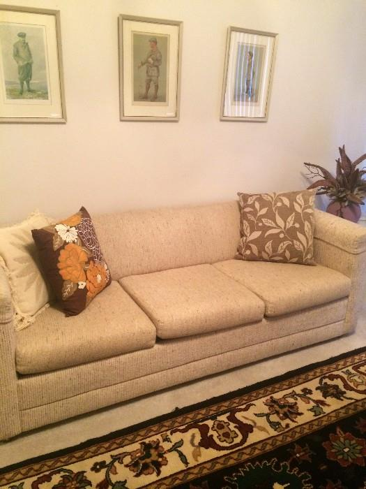 One of 3 sofas