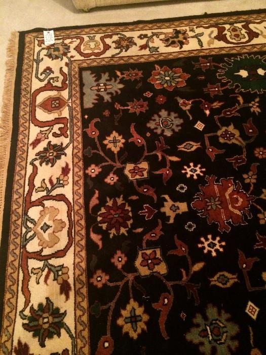 8 x 8 Mahal handmade rug