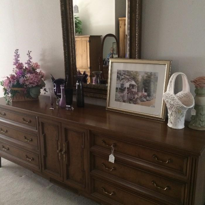 Large triple dresser