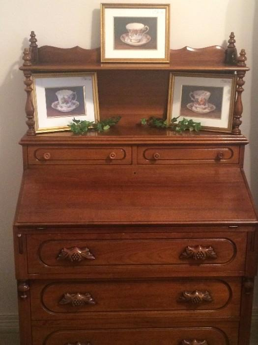 Lovely antique secretary