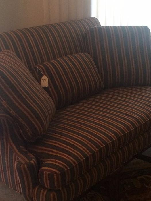 Upholspered settee - great condition