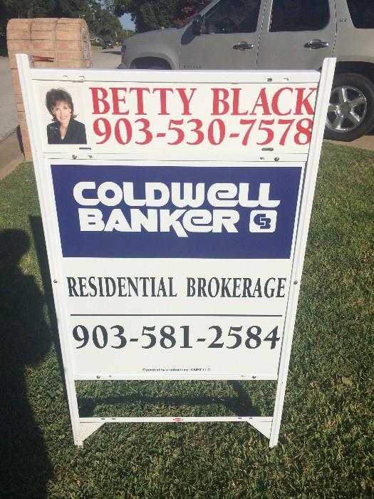Almost 3300 square foot home offered by Betty Black of Coldwell Bankers (3-car garage)