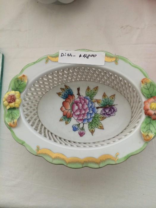 Handpainted Herend - made in Hungary