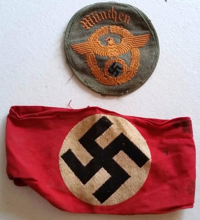 Nazi Armband and Patch