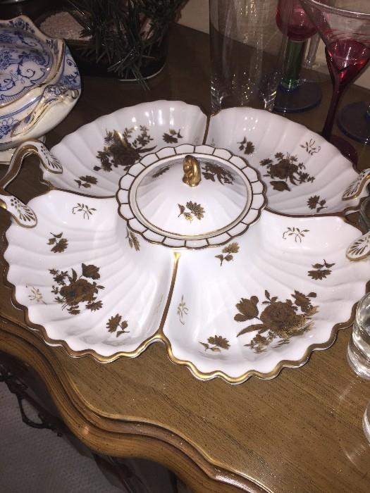 VINTAGE HAND-PAINTED CHINA