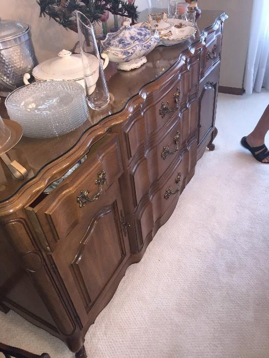 GORGEOUS SOLID WOOD DREXEL BUFFET