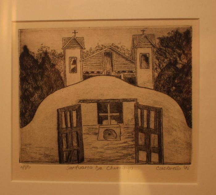 """""""Santuario De Chemayo"""" by Ciaclarella 4/80"""