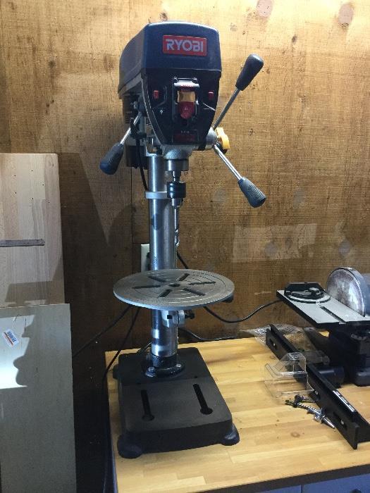 Ryobi Bench Drill Press w/ laser