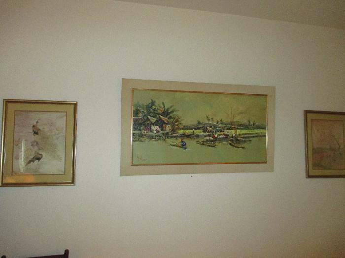 Prints and Nice Oil Painting