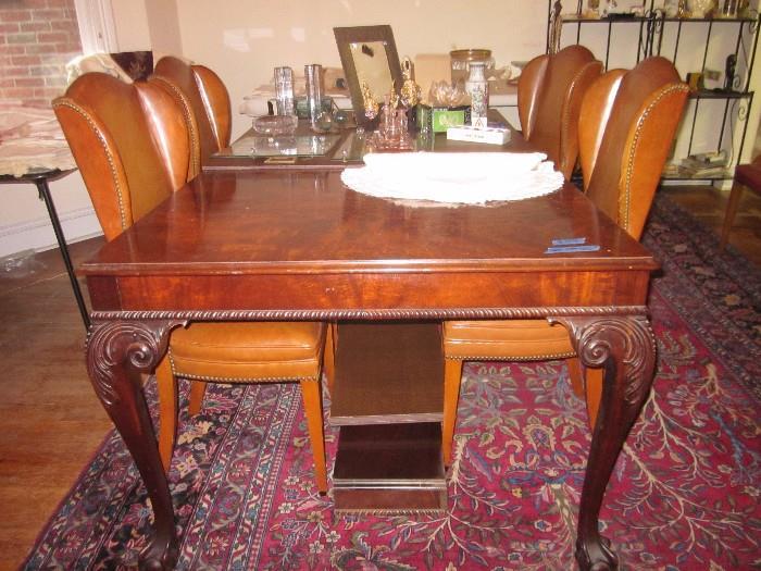 Large Mahogany Table.  Beautiful. Good condition