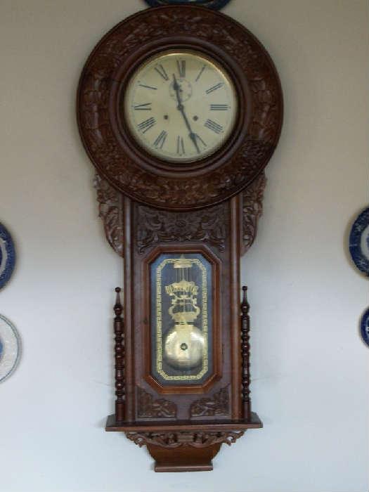 Regulator clock.