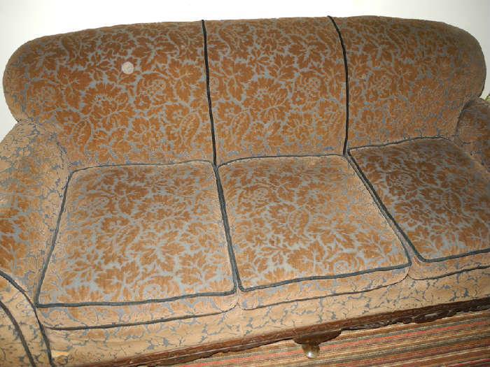 Sofa from Ronald Regans' Dixon home