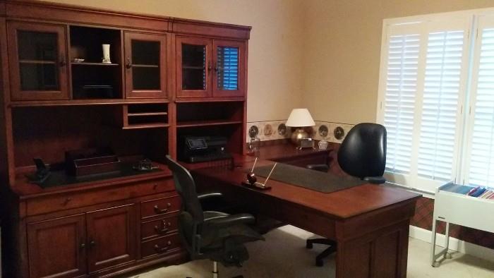 Entire office suite, by Aspen, Louis Phillipe Collection