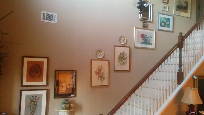 """""""Stairway to Heaven"""" art collection"""