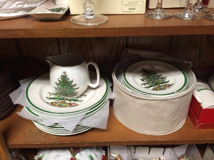 Spode Dinner and salad plates