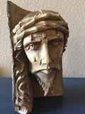 Hand carved from a single log , Jesus Christ