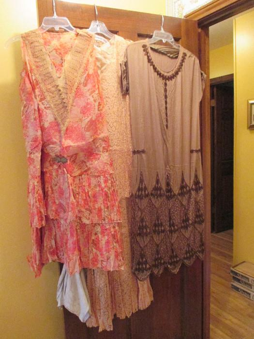 Dresses from the 1920s, 30s, 40s, & 50s