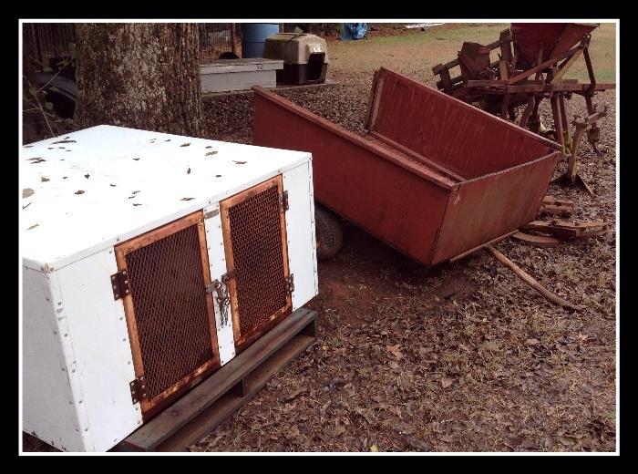 Dog camper, trailer
