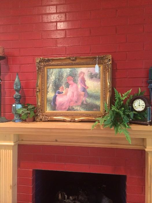 More framed art
