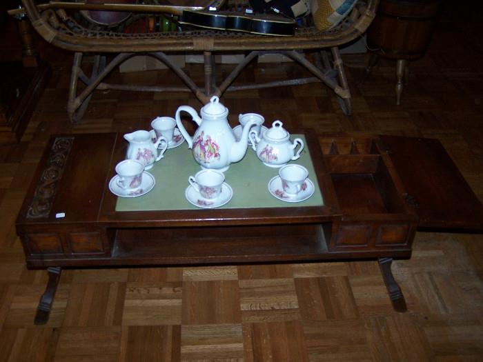 Oriental Tea Table