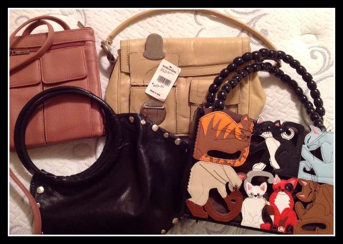 Purses including Marc Jacobs