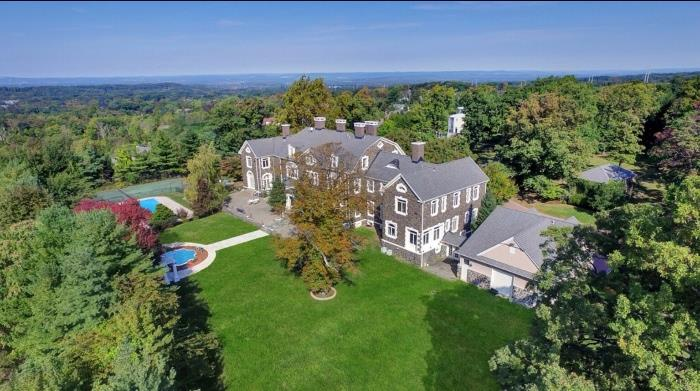 Historic stone mansion formerly the home of the Kean family