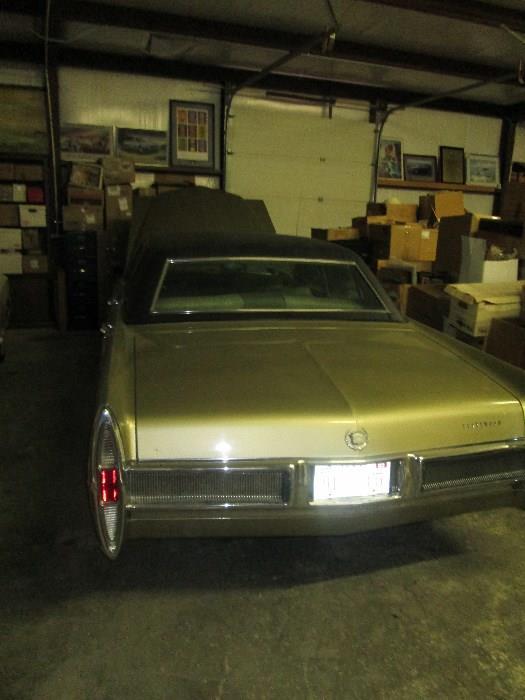 1967 Cadillac Fleetwood Braum, low mileage