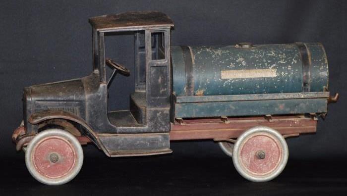 Antique Buddy-L Tank Line Toy Truck