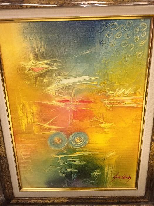 ORIGINAL - Janos Kardos - Acrylic on Canvas - With COA