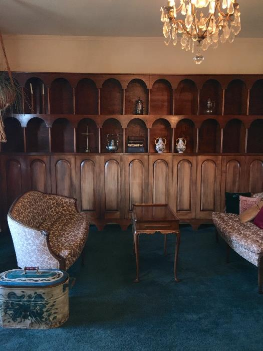 4 tall French Provincial cabinets