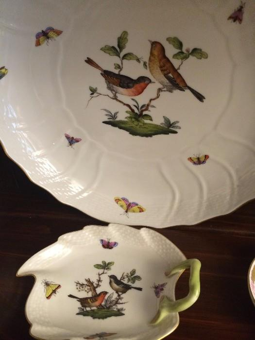 More Herend handpainted selections