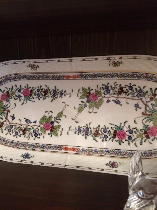 Oblong Herend platter