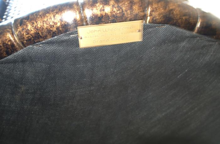 Metal Widdicomb tag