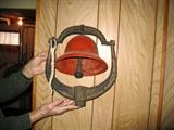 Red bell with bracket