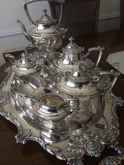 Exceptional tea service