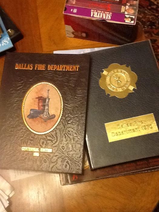 Dallas Fire Dept memorabilia