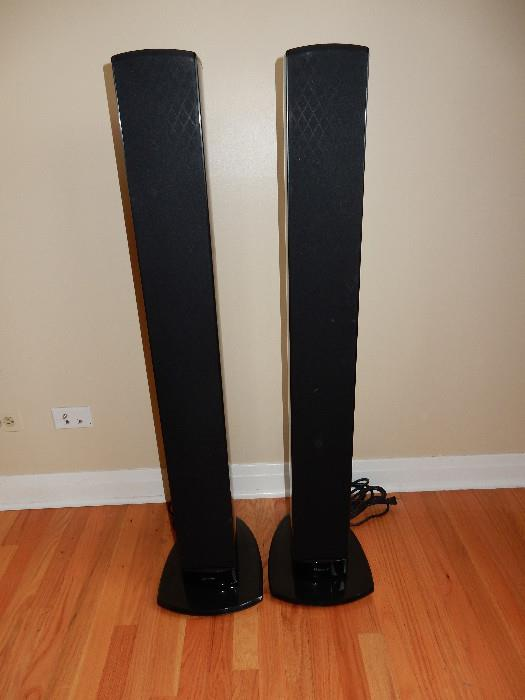 NEVER USED. Difinitive Technology Mythos STS Super Tower Speakers. Retail $1,500 each!