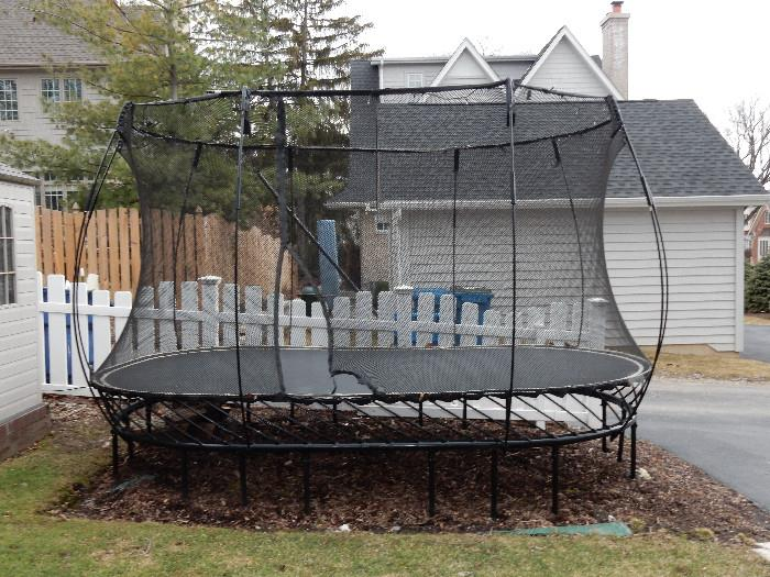 Springfree Large Oval Trampoline.