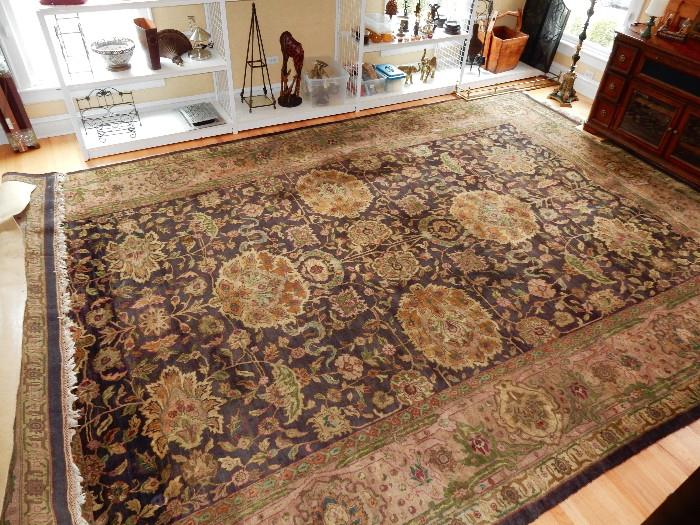 12' x 18' Hand knotted rug. Gorgeous!!!!