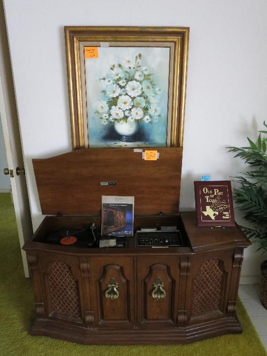 Working Zenith Console In Excellent Shape