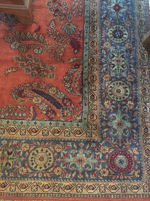 GORGEOUS HAND MADE WOOL RUG 10X6