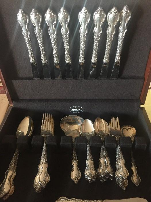 STERLING SILVER DUBARRY FLATWARE
