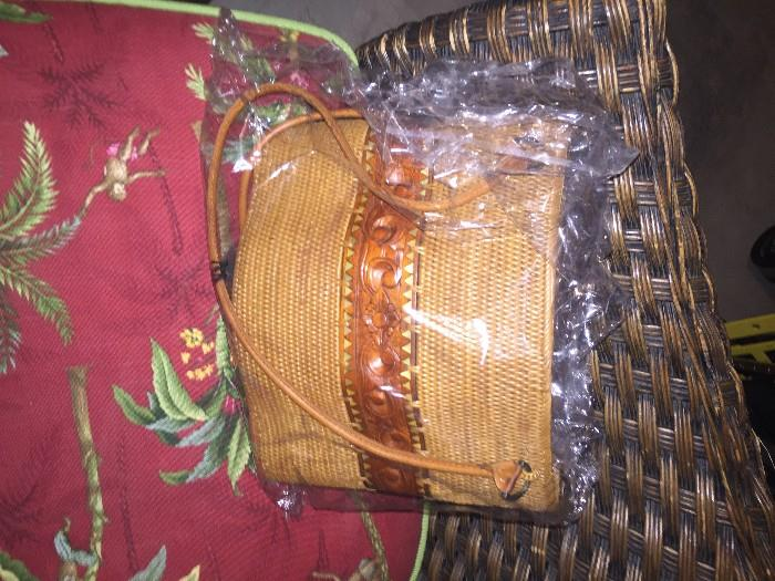 WICKER HANDBAGS