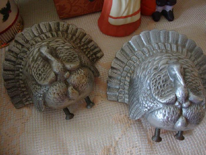 Pewter Turkeys