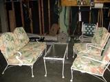 Mint condition wrought iron patio set