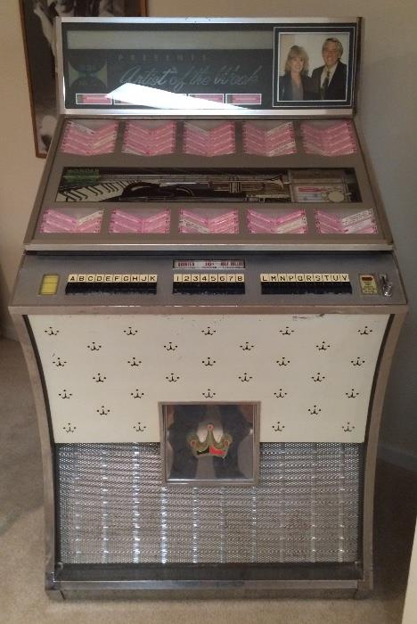 Seeburg Jukebox DS160