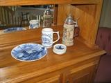 Germany stein and Holland items