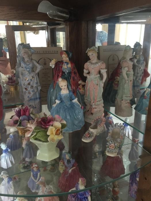 Royal Daulton figurines