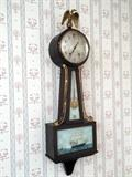 Seth Thomas Banjo wall clock